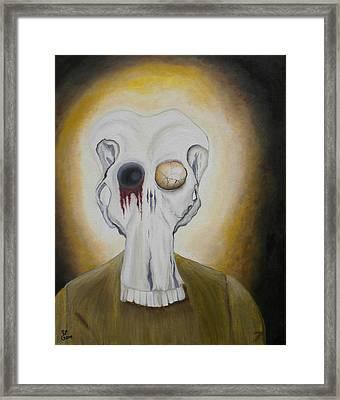 Al Framed Print by Yabette Swank