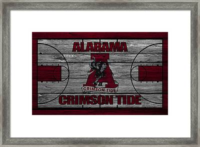 Alabama Crimson Tide Framed Print by Joe Hamilton