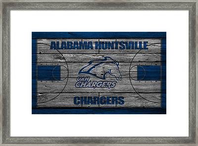 Alabama Huntsville Chargers Framed Print by Joe Hamilton