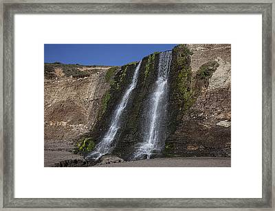 Alamere Falls Three Framed Print by Garry Gay