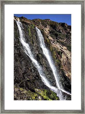 Alamere Falls Two Framed Print by Garry Gay