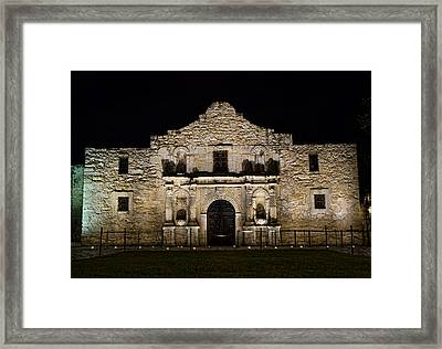 Alamo Mission Framed Print by Heather Applegate
