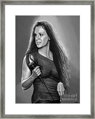 Alanis Morissette Framed Print by Meijering Manupix