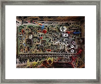 Alarming Framed Print by Morgan Carter