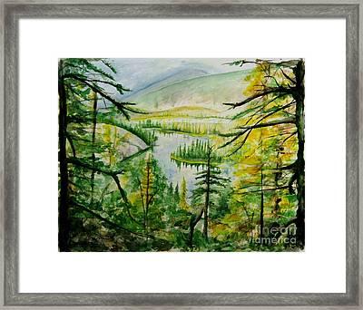 Alaska Dreamin' Framed Print by Bev Arnold