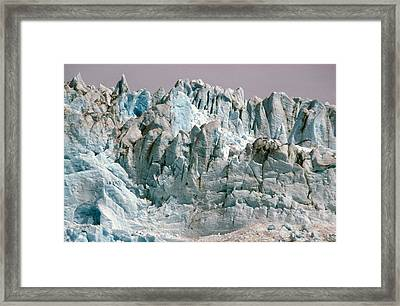 Alaska Glaciers Framed Print by Anonymous