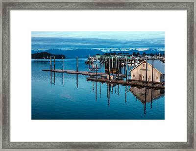 Alaska Seaplanes Framed Print by Mike Reid