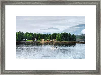 Alaska The Last Frontier Framed Print by Mel Steinhauer