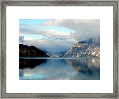 Alaskan Splendor Framed Print by Karen Wiles