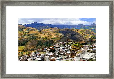 Alausi  Doorway To The Devils Nose Framed Print by Al Bourassa