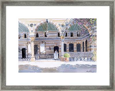 Alazem Palace Framed Print by Lucy Willis