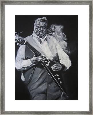 Albert King Framed Print by Steve Hunter