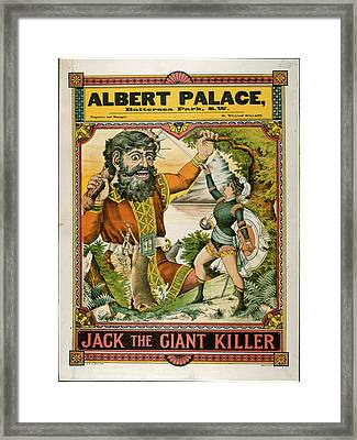 Albert Palace Framed Print by British Library