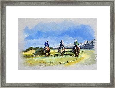 Alberta Landscape 03 Framed Print by Mahnoor Shah