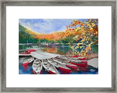 Alberta Landscape 04 Framed Print by Mahnoor Shah