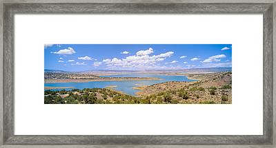 Albiquiu Reservoir, Route 84, New Mexico Framed Print by Panoramic Images