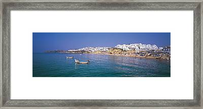 Albufeira Algarve Portugal Framed Print by Panoramic Images