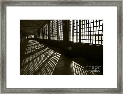 Alcatraz 4 Framed Print by Micah May