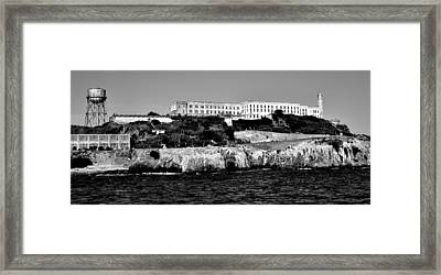 Alcatraz Federal Prison Framed Print by Benjamin Yeager