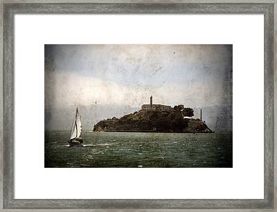Alcatraz Island Framed Print by RicardMN Photography