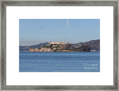 Alcatraz Island San Francisco California 5dimg2521 Framed Print by Wingsdomain Art and Photography