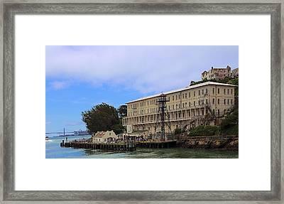 Alcatraz  Building 64 Framed Print by Viktor Savchenko