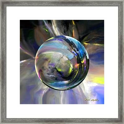 Alchemy Of Hope Framed Print by Robin Moline