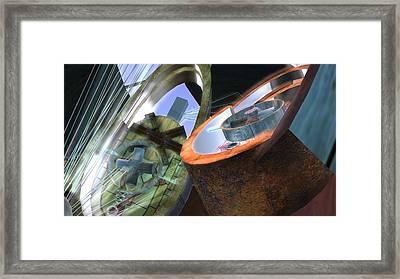 Alcimenian Machine Framed Print by Phil Vooz