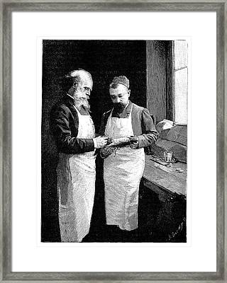 Alcoholism Research Framed Print by Science Photo Library