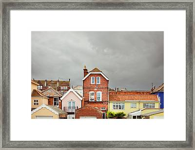 Aldeburgh Buildings Framed Print by Tom Gowanlock