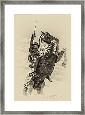 Alexander The Great Framed Print by Yevgeni Kacnelson