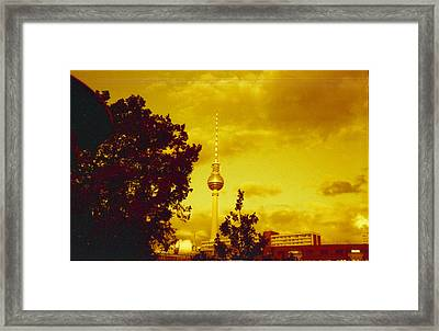 Alexander Tower Framed Print by Juan  Bosco