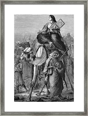 Alexandrine Tinne Framed Print by Bildagentur-online/tschanz
