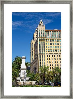 Alhambra Towers - 1 Framed Print by Rudy Umans