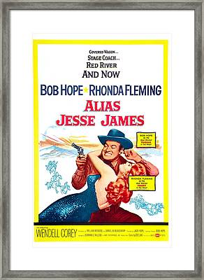 Alias Jesse James, Us Poster, Bob Hope Framed Print by Everett
