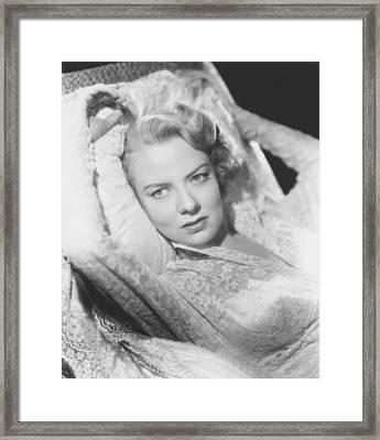 Alias Nick Beal, Audrey Totter, 1949 Framed Print by Everett