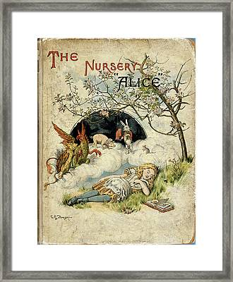 Alice Asleep Framed Print by British Library
