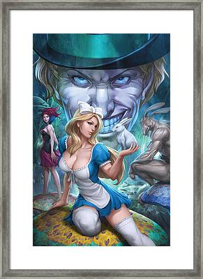 Alice In Wonderland 01a Framed Print by Zenescope Entertainment