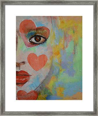Alice In Wonderland Framed Print by Michael Creese