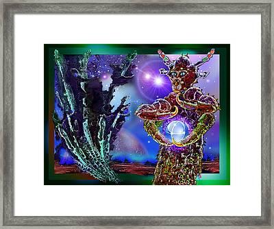Alien  Beauty Framed Print by Hartmut Jager