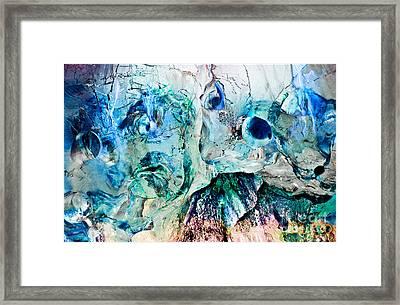 Alien Couple Framed Print by Petros Yiannakas