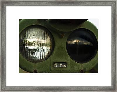 Alien Eyes Framed Print by Christi Kraft