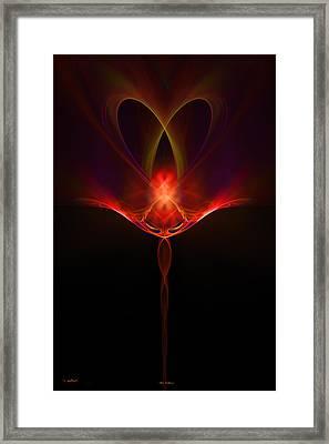 Alien Intelligence Framed Print by Vinod Chauhan