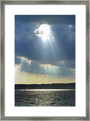 Alien - Lake Geneva Wisconsin Framed Print by Bruce Thompson