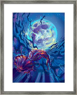 Two Worlds Framed Print by Yusniel Santos