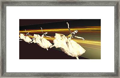 Alive In The Music Framed Print by Seth Weaver
