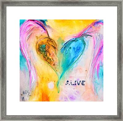 Alive Framed Print by Ivan Guaderrama