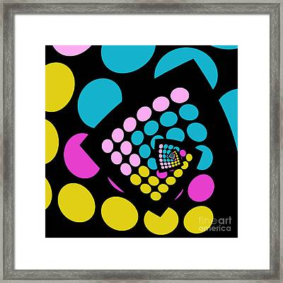 All About Dots - 059 Framed Print by Variance Collections