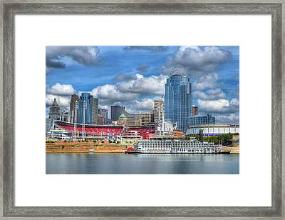 All American City Framed Print by Mel Steinhauer