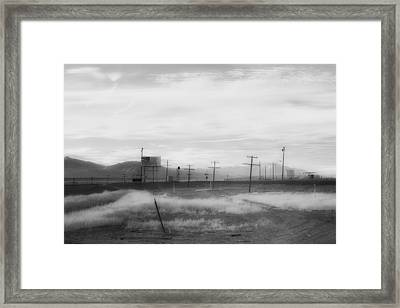 All American Landscape Framed Print by Hugh Smith